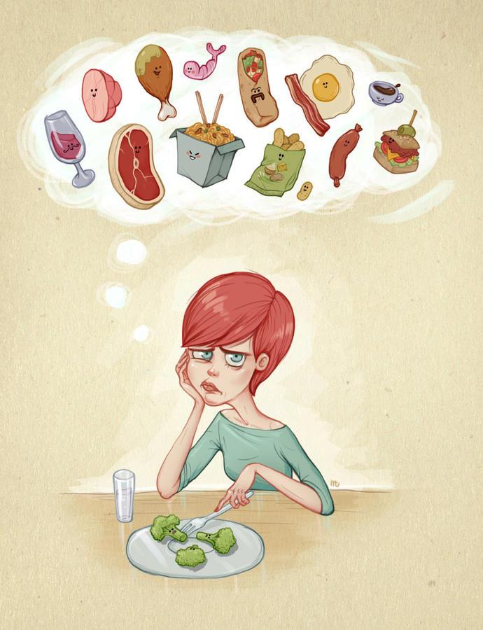 День картинка, смешные картинки про еду и диету хорошем качестве