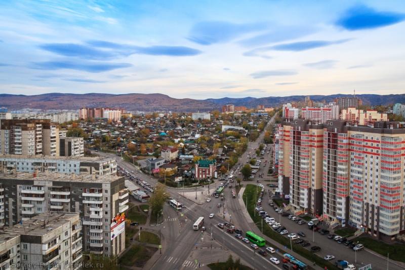 Улицы красноярска в картинках