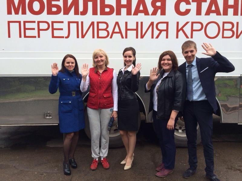 Университеты столицы организовали акции посдачи крови