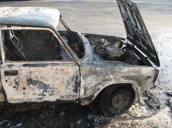 ВКрасноярском крае нетрезвый ученик угнал исжег отечественный автомобиль
