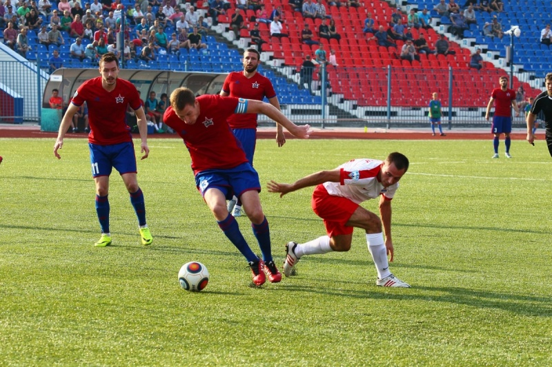 Футбол: «СКА-Хабаровск» обыграл дома красноярский «Енисей»