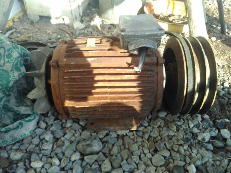 ВМинусинске стерритории пилорамы украли семь электродвигателей