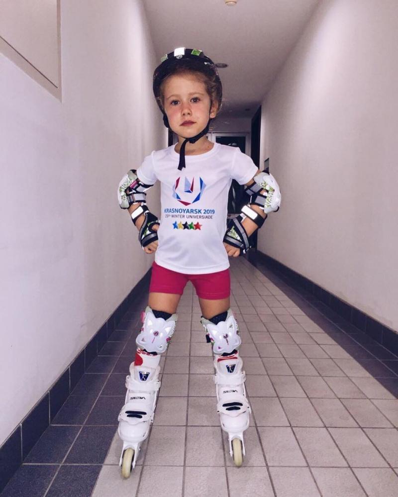 Четырехлетняя девочка изКрасноярска стала послом Зимней универсиады