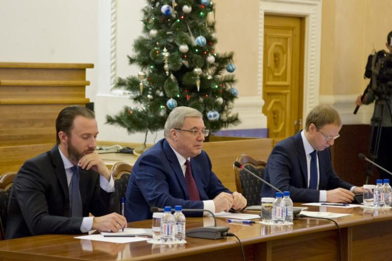 Виктор Толоконский установил задачи развития региона на 2017-й год