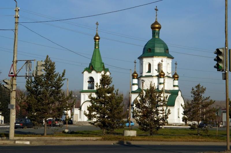 ВКрасноярске мужчина пытался обокрасть кладбищенский храм