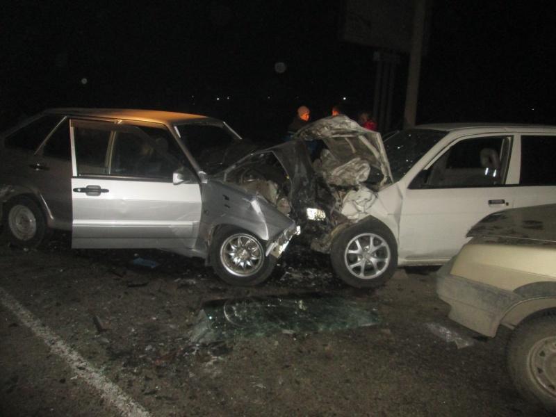 ВХакасии случилось смертельное ДТП сучастием трёх машин
