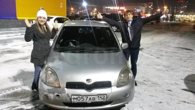 Красноярка продала Тойота Vitz за млн руб.
