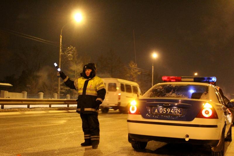 Больше сотни нетрезвых водителей словили вКрасноярске напраздничных выходных