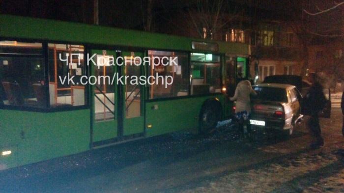 Нетрезвый на«Жигулях» неуступил дорогу автобусу и удалился после трагедии