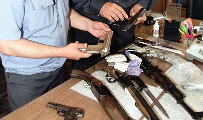 Граждане Красноярского края добровольно сдали 194 единицы незаконного оружия