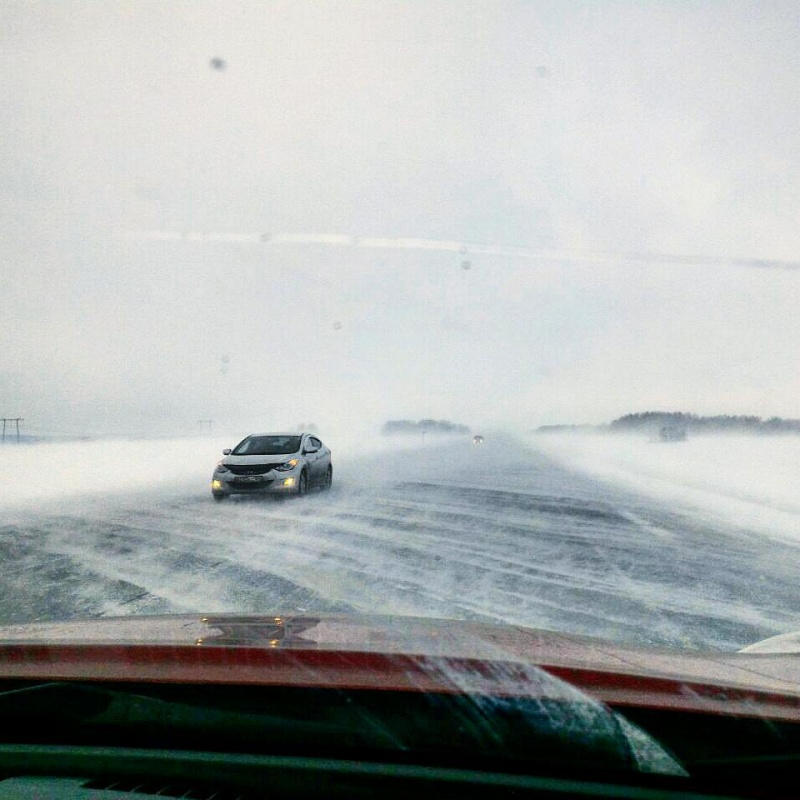 Водителей Красноярского края иХакасии предупредили огололеде