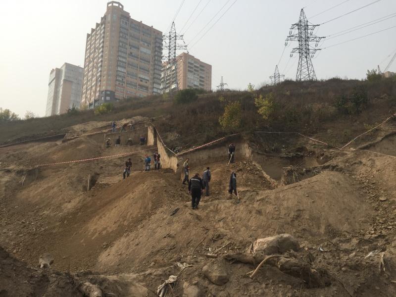 Заканчиваются археологические работы наАфонтовой горе