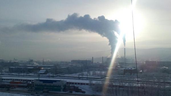 Режим «черного неба» введен вКрасноярске доконца недели