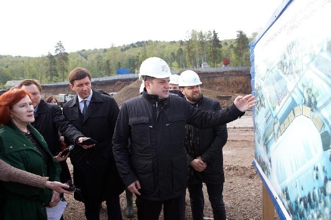 Объекты Универсиады-2019 вКрасноярске предлагают строить круглые сутки