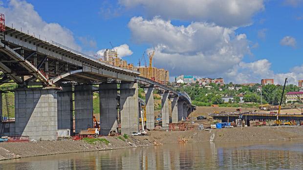 4 моста через Енисей в