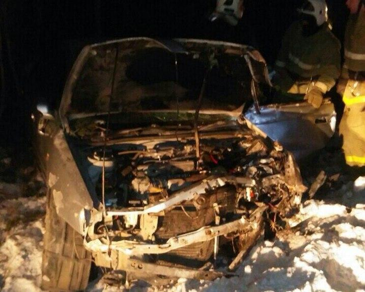 ВЖелезногорске при ДТП погибла 18-летняя пассажирка