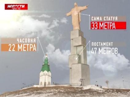 Активисты посоветовали установить вКрасноярске 80-метровую статую Христа