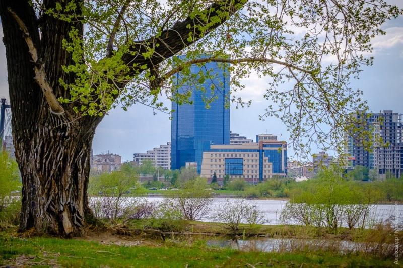 Воздух вКрасноярске прогреется долетних температур