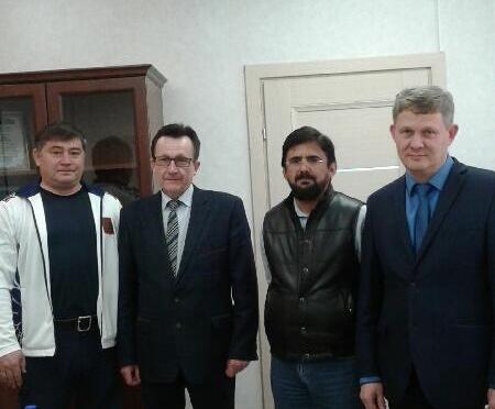 Арабский предприниматель ищет, где отдохнуть вокрестностях Красноярска