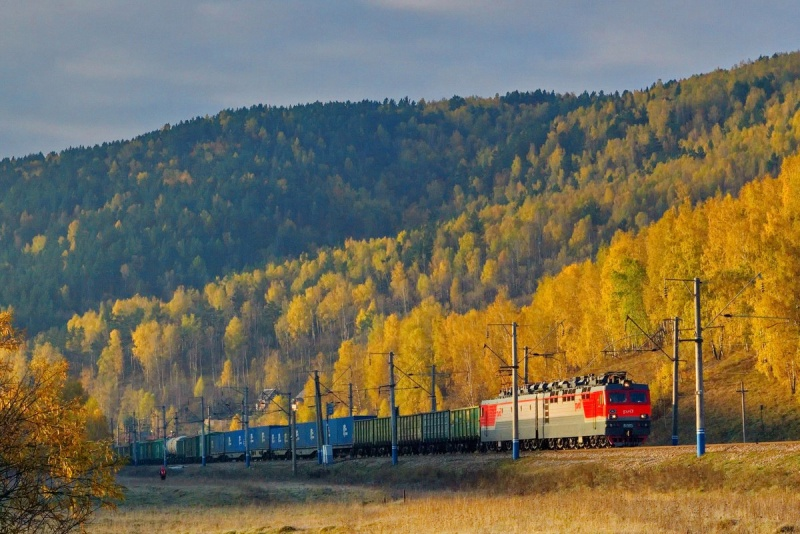 Вначале осени погрузка наЮжно-Уральской железной дороге снизилась на1%
