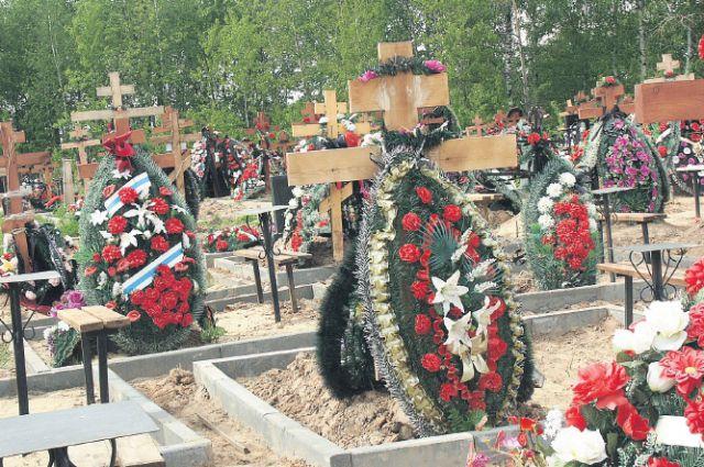Кладбище Бадалык в Красноярске