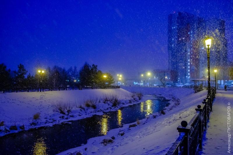 Морозную иснежную погоду прогнозируют синоптики вКрасноярске навыходных