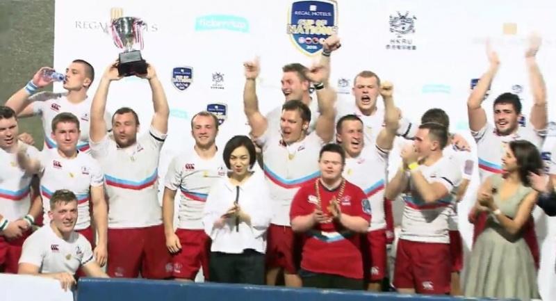 Сборная РФ порегби стала победителем Кубка наций вГонконге