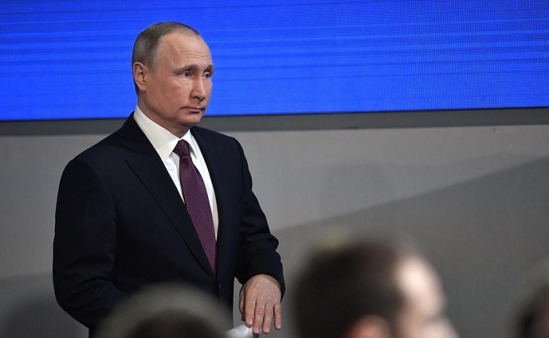 ВКрасноярске готовятся кприезду президента В.Путина