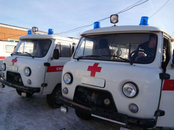 Парк автомобилей районной скорой помощи вКрасноярском крае был дополнен