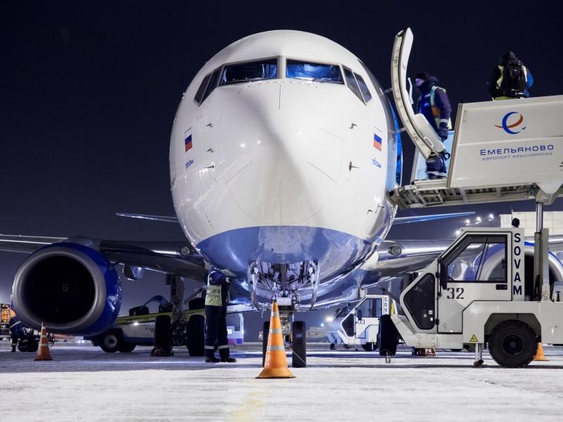 Русский лоукостер «Победа» пришел вкрасноярский аэропорт