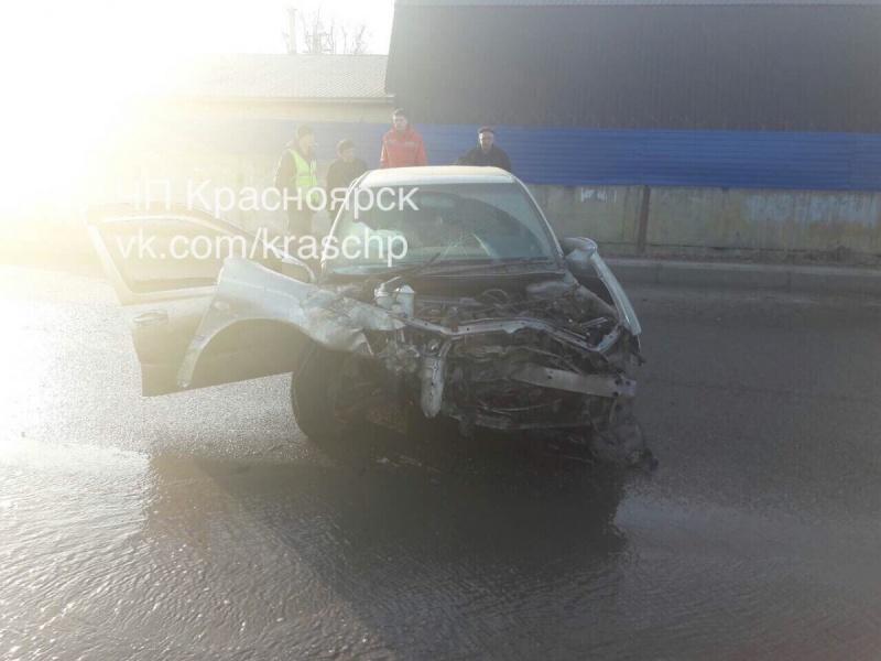 ВКрасноярске шофёр иномарки устроил трагедию спострадавшими