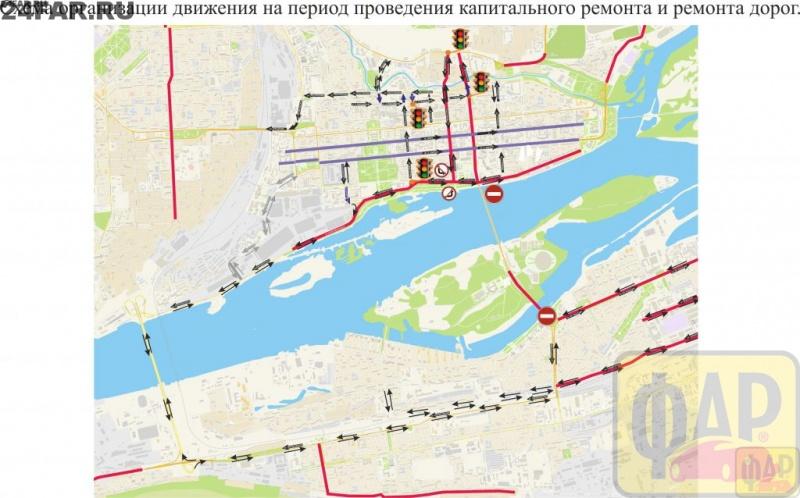 Красноярский Коммунальный мост хотят навсе 100% перекрыть наремонт