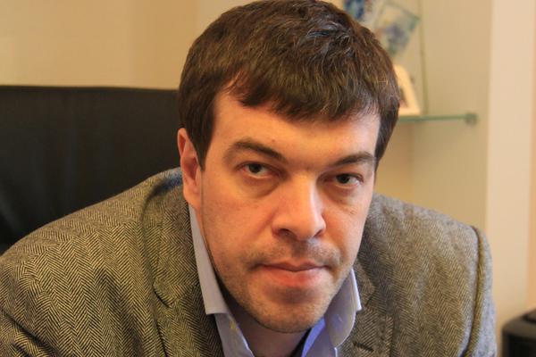 Сегодня вдруг скончался босс волейбольного клуба «Енисей» Эдуард Носков