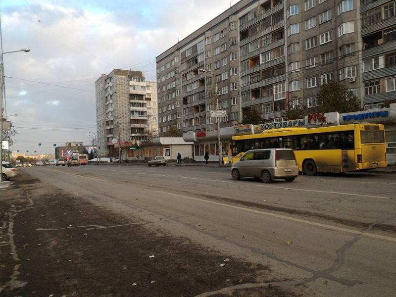 Перевозчики Красноярска продолжают менять старые автобусы нановые