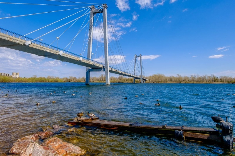 Врайоне вантового моста вреке отыскали тело