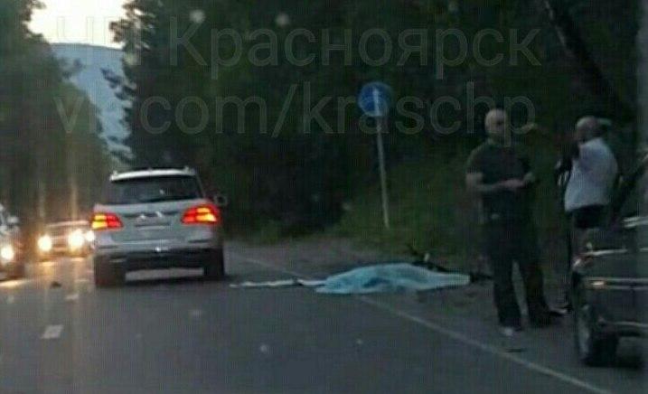 Напроспекте Свободном вКрасноярске насмерть сбили велосипедиста