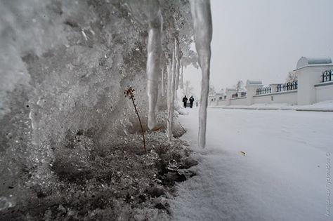 НаКубани мокрый снег угрожает подпортить жизнь любителям автомобилей