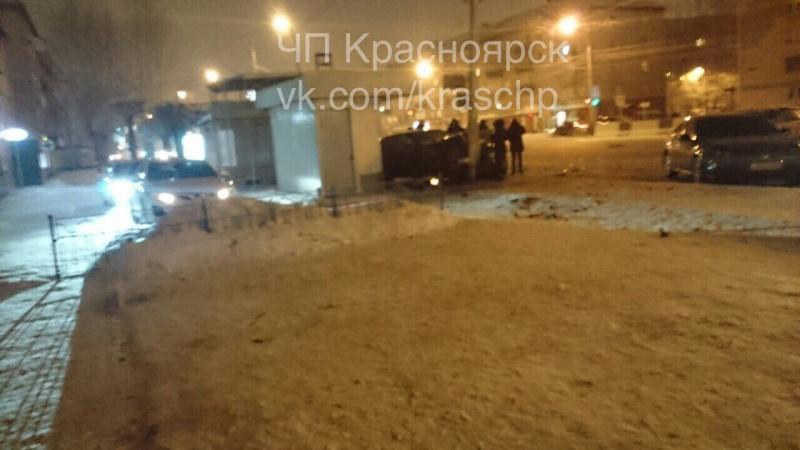 ВКрасноярске вустроенном нетрезвым водителем ДТП пострадали 4 человека