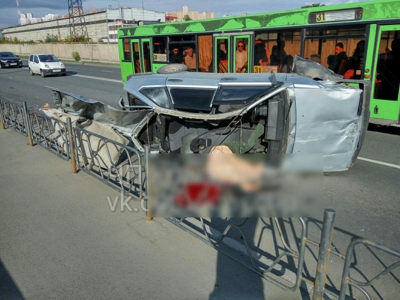 ВКрасноярске наДубровинского вжутком ДТП умер  мужчина
