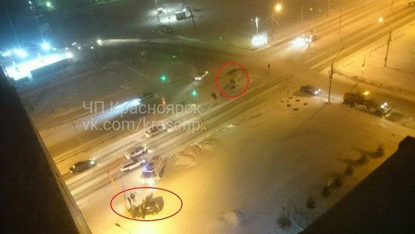 Уводителя разбита голова, упассажирки сломана челюсть— ДТП вКрасноярске