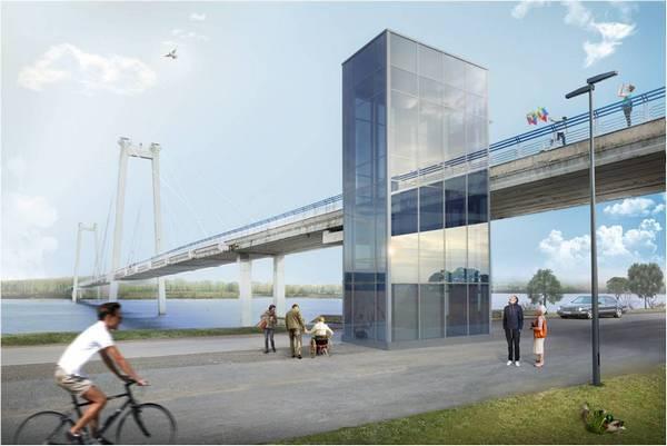 Красноярцам представили эскизы проекта реконструкции набережной наДубровинского