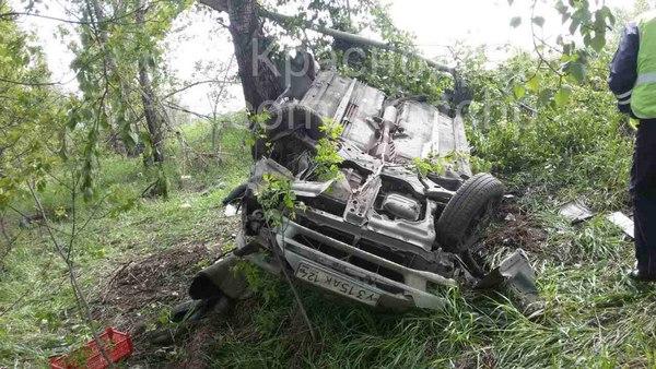 ВКрасноярске случилось печальное ДТП врайоне кладбища Бадалык