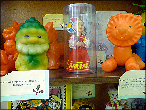 Красноярский детский парк собрал коллекцию игрушек советских времён