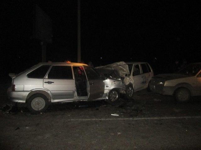 ВХакасии шофёр выехал навстречку и умер влобовом столкновении